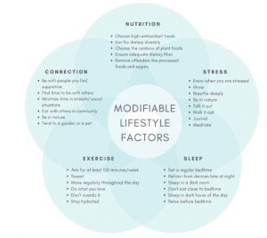 Modifiable Lifestyle Health Factors